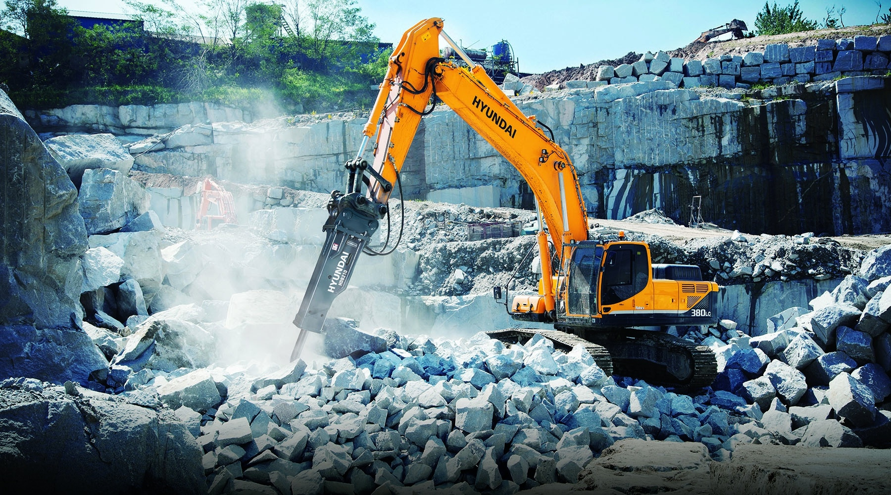 Hyundai Rock Breaking Equipment