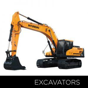 Hyundai Excavator Equipment